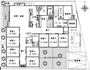 2番館1階図面