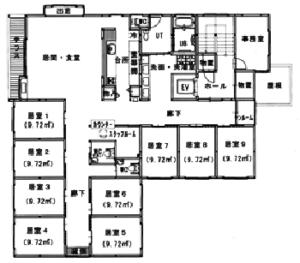 2番館2階図面